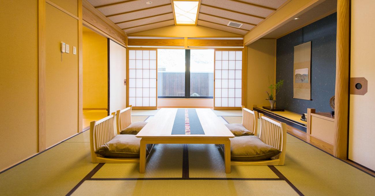 เรียวกัง ยูโนโกะออนเซ็น จังหวัดโอคายามะ  คิฟุโนะซาโตะ แนะนำห้องพัก