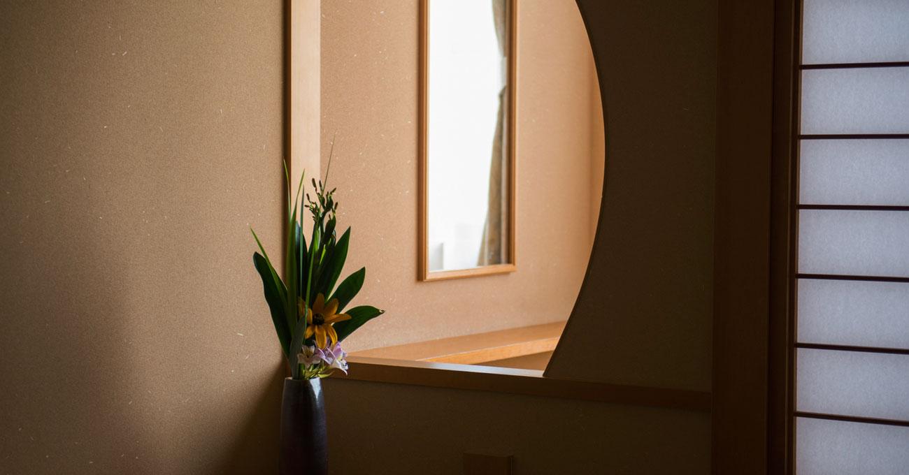 季節の花を楽しむ湯郷温泉旅館 季譜の里