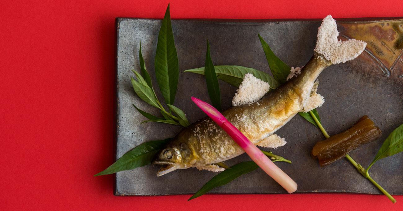 湯郷温泉旅館 季譜の里 料理